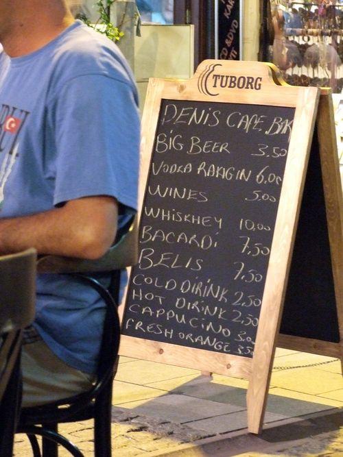 Deniz Cafe prices