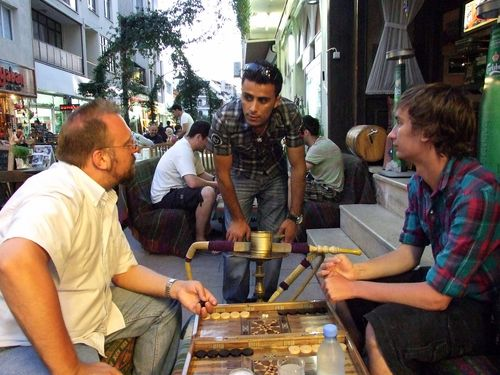 Fatih at Deniz Cafe