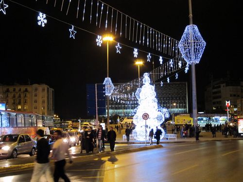 Holiday Lights in Taksim