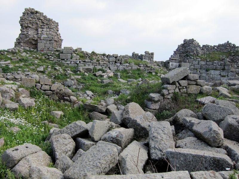 Acropolis at Bergama, Turkey