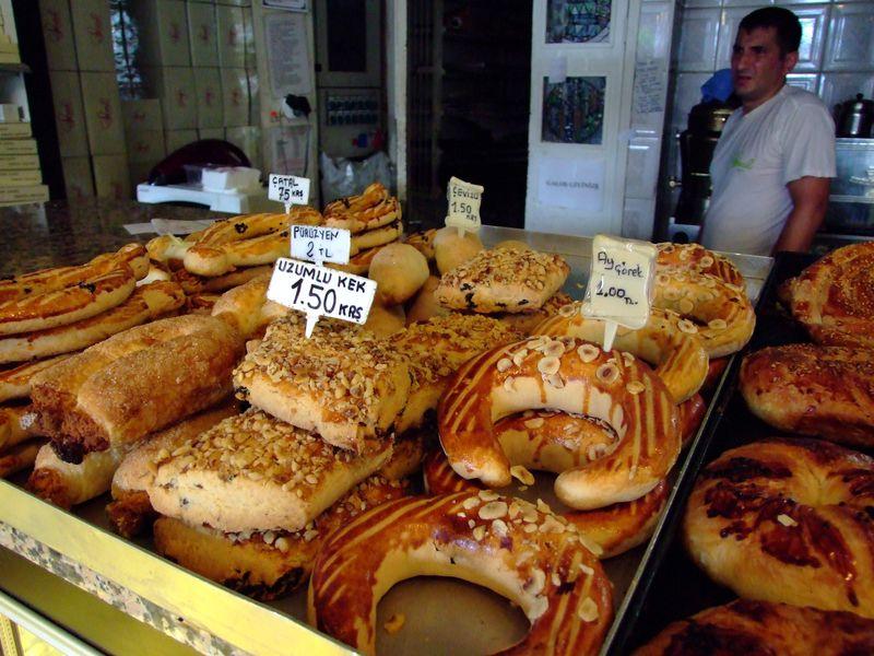 Savoury treats at Seval Pastanesi