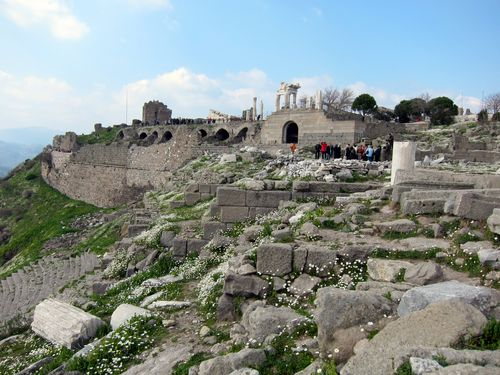 Acropolis at Bergama, Turkey 2