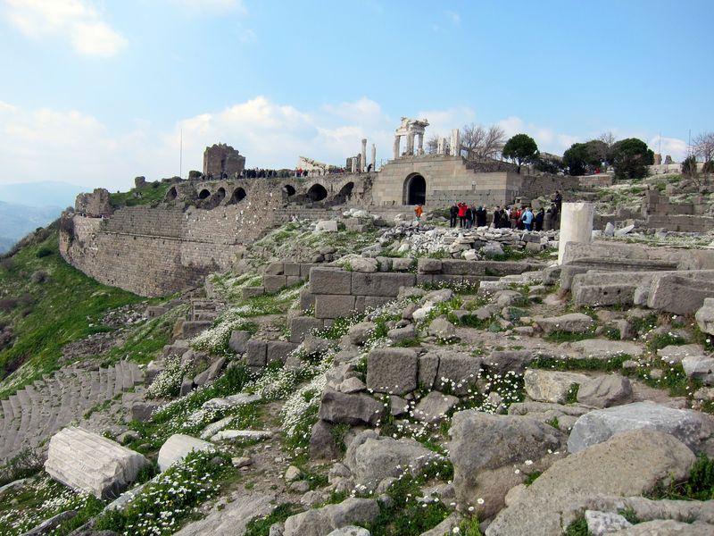 Acropolis at Bergama, Turkey 2