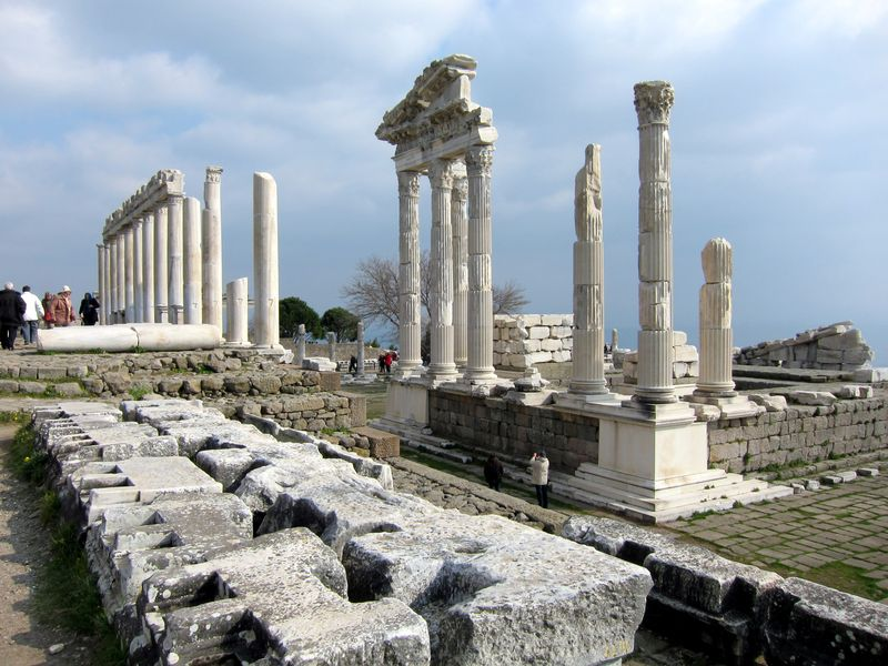 Acropolis at Bergama, Turkey 3