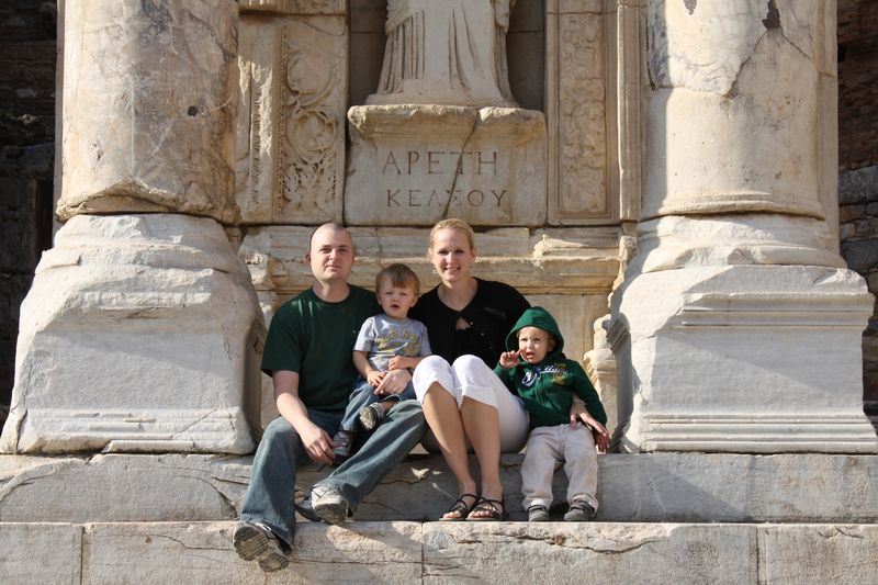 Wendi and her family