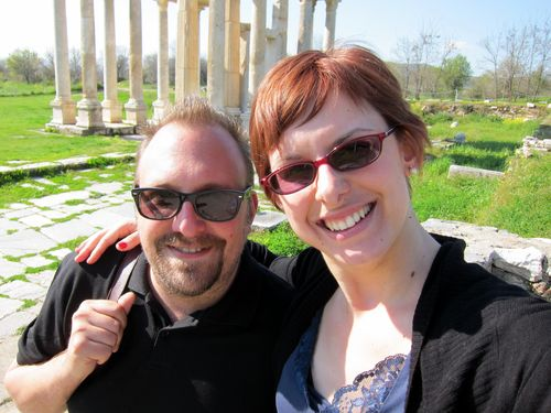 Jeff and Barbara at Aphrodisias
