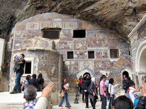Trabzon Sumela Monastery 9
